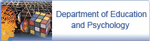 Department of Education and Psychology