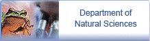 Department of Natural Sciences